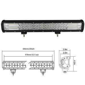 Led bar 20 inch , 288W 12v-24v calitate superioara produs pentru U.S.A+cadou imagine techstar.ro 2021