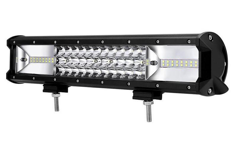 Led bar 15 inch 216W 12v-24v calitate superioara produs pentru U.S.A+cadou imagine techstar.ro 2021