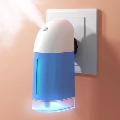 Difuzor de aromaterapie, umidificator, ultrasonic, antibacterian imagine techstar.ro 2021