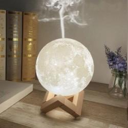 Lampa de veghe in forma de luna cu umidificator