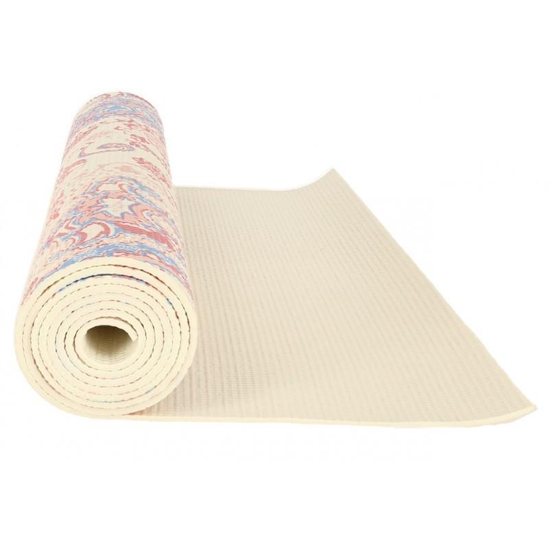 Saltea yoga cu design roll-up si suprafata anti-alunecare, 173 x 61 x 0.50 cm, Grunberg YM5 (multicolor)