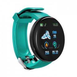 Bratara Fitness Smartband Techstar® D18 Waterproof IP65, Incarcare USB, Bluetooth 4.0, Display Touch Color OLED, Gri Resigilat