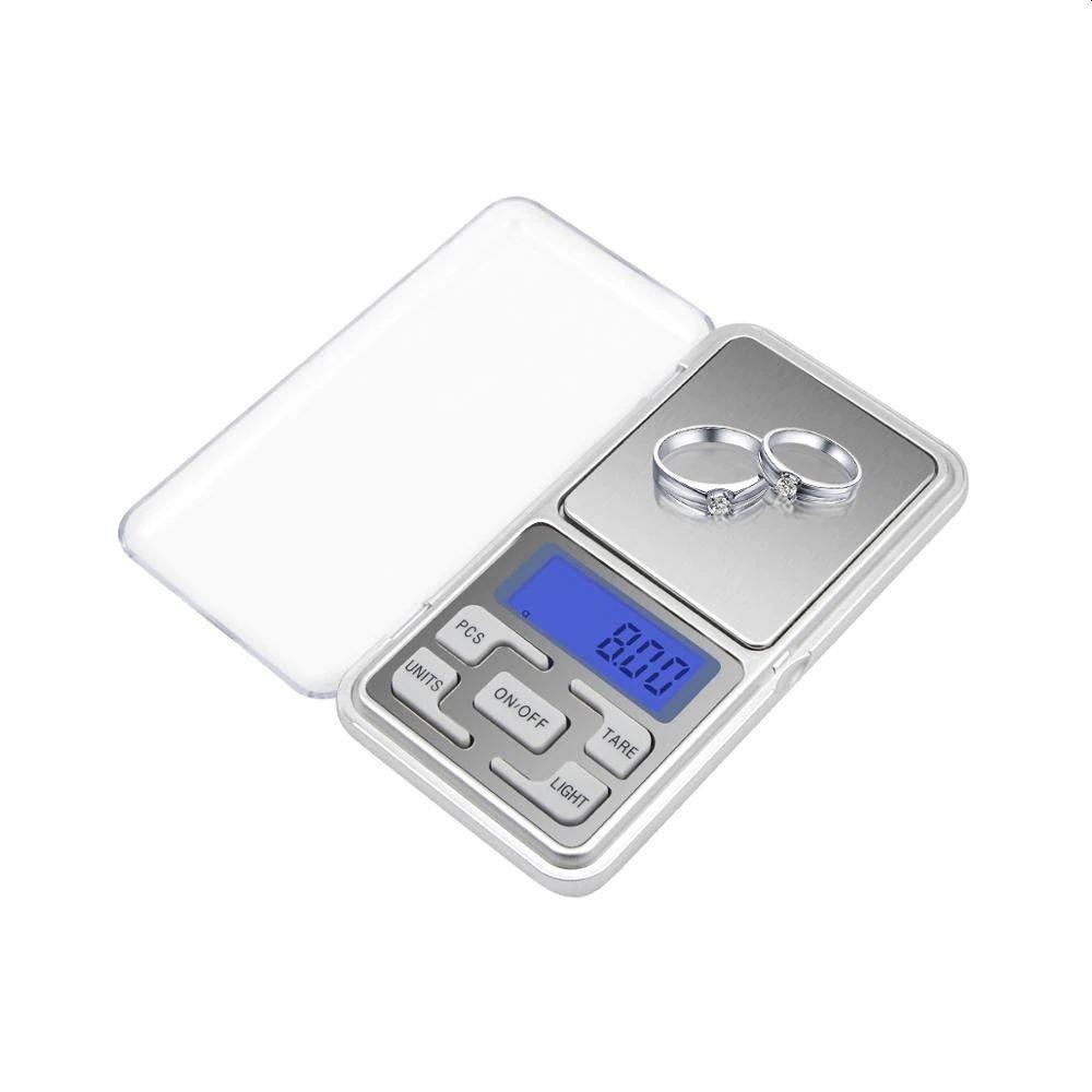 Cantar de Buzunar Pentru Bijuterii 0.01 - 200 g + Bateri incluse imagine techstar.ro 2021