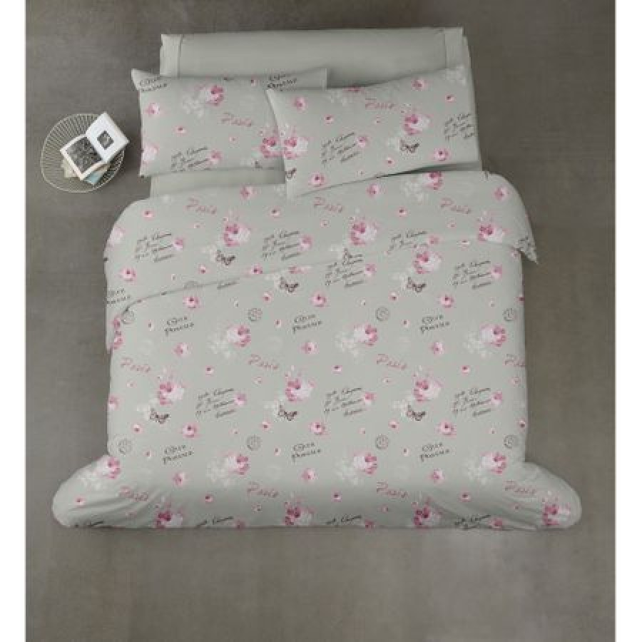 Lenjerie de pat pentru 2 persoane, 4 piese, Postal imagine techstar.ro 2021