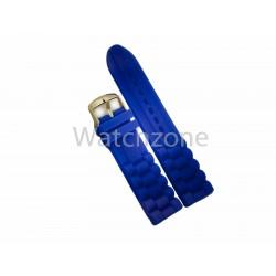 Curea Ceas Silicon Albastru 20mm 24mm
