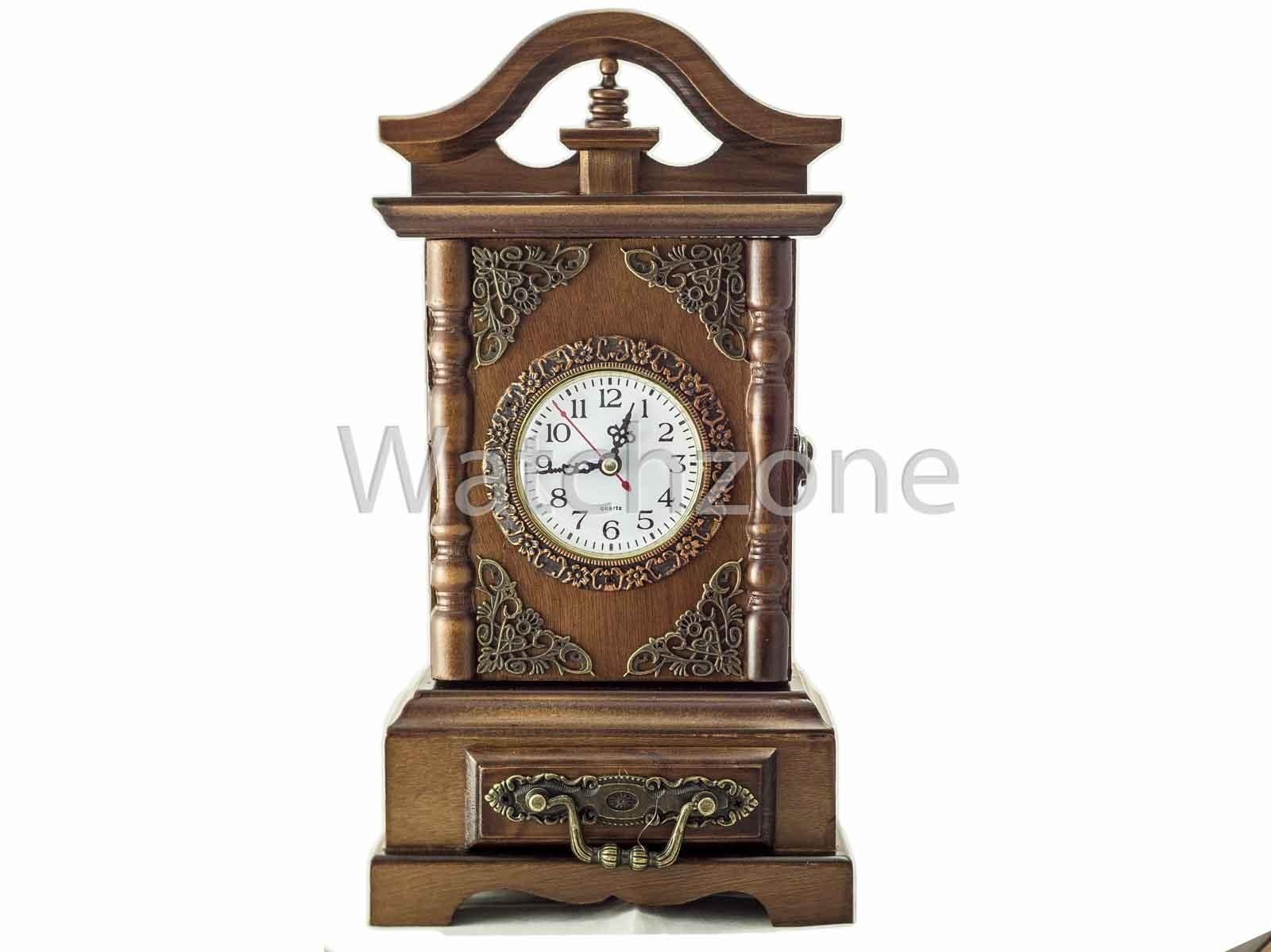 Ceas De Masa din Lemn Vintage Cu Usa Secreta imagine techstar.ro 2021