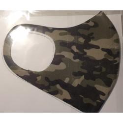 Masca protectie camuflaj, reutilizabila