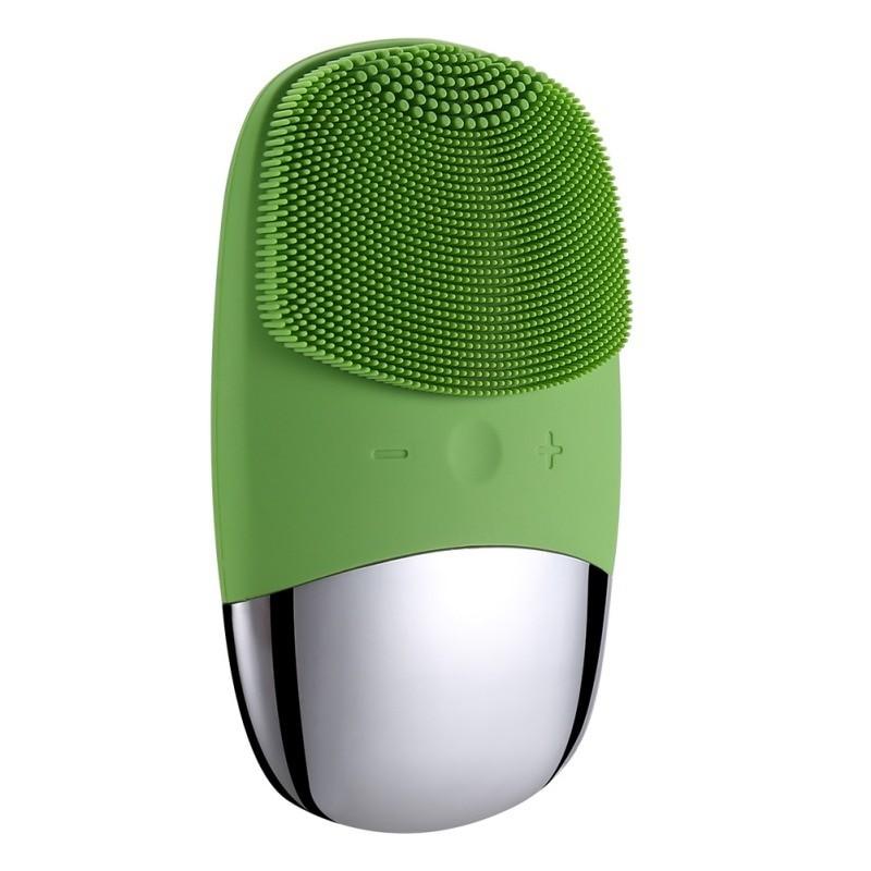 Aparat Ingrijire Faciala Techstar® SC203, Hipoalergenic, Curatare in Profunzime, Masaj, 5 Trepte, Verde imagine techstar.ro 2021