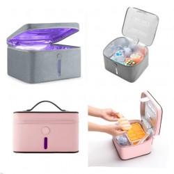 Geanta pentru Dezinfectie cu Ultraviolete, Leduri cu lumina UVC+cadou