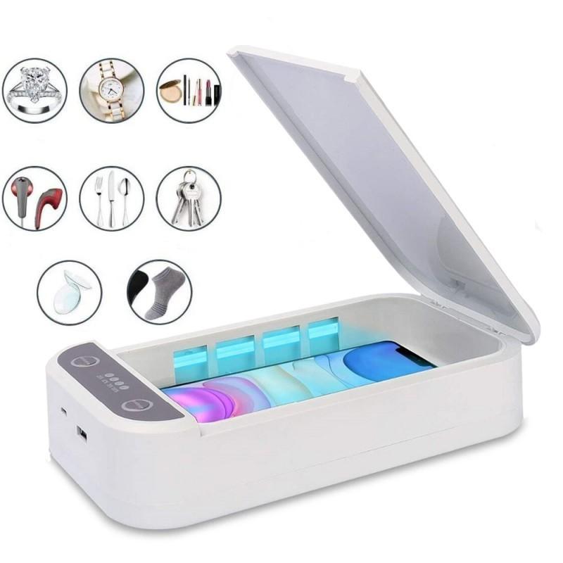 Sterilizator UVC pentru telefon sau obiecte mici, Incarcare USB+cadou