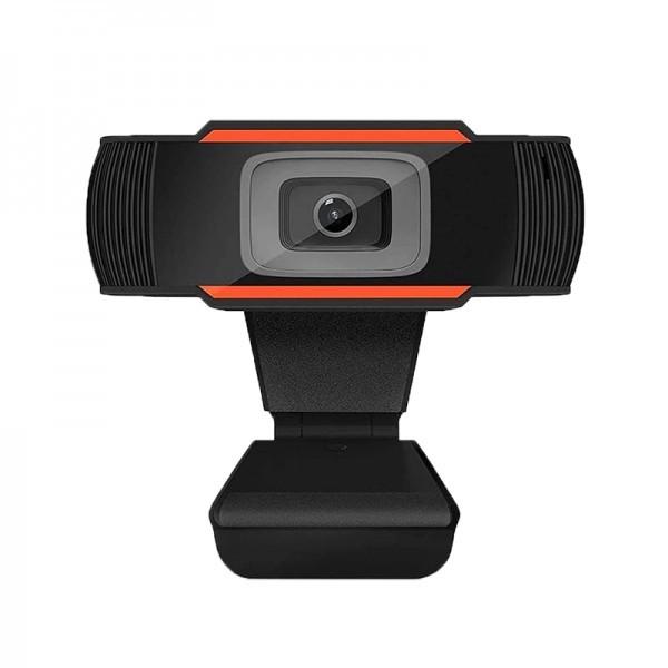 Camera Web Wide Full HD 1080p cu Microfon Incorporat, USB 2.0, Plug and Play, pentru PC sau Laptop
