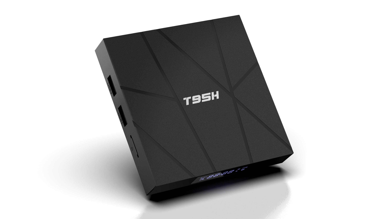 Media player TV Box T95H Android 10, 2GB RAM, 16GB ROM, Mini PC 6K, Netflix subtitrat, Google Classroom, Zoom imagine techstar.ro 2021