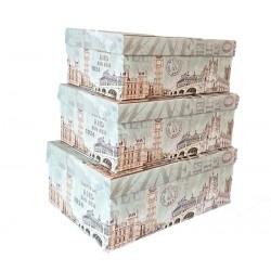 Set De 3 Cutii pentru Depozitarea Bijuteriilor Big Ben