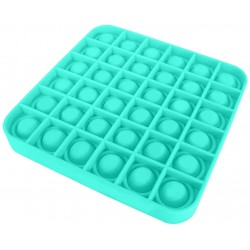 Push Bubble Fidget Jucărie senzorială, Autismul are nevoie specială de detensionare PATRAT