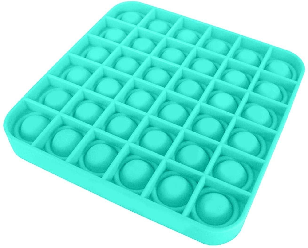 Push Bubble Fidget Jucărie senzorială, Autismul are nevoie specială de detensionare PATRAT imagine techstar.ro 2021