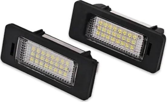 Lampi numar LED, pentru Audi A7 Set 2 Bucati imagine techstar.ro 2021
