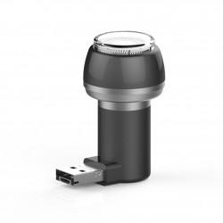 Aparat de Ras Techstar® VSH101, Lama Dubla, Portabil, USB, Negru