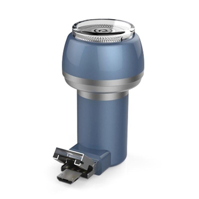 Aparat de Ras Techstar® VSH101, Lama Dubla, Portabil, USB, Gri poza 2021