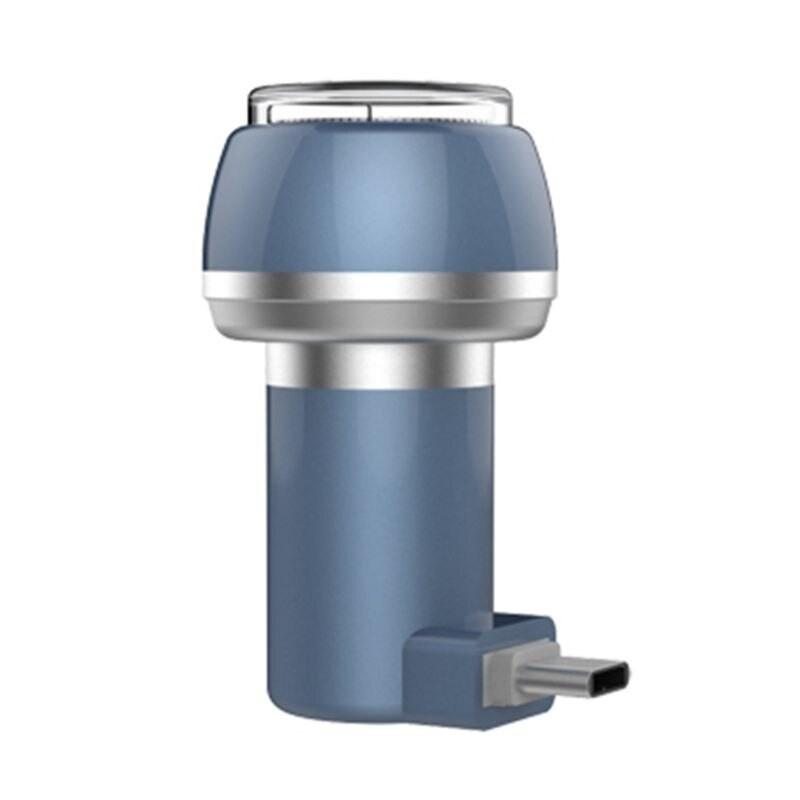 Aparat de Ras Techstar® VSH101, Lama Dubla, Portabil, USB Type-C, Gri poza 2021