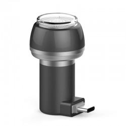 Aparat de Ras Techstar® VSH101, Lama Dubla, Portabil, USB Type-C, Negru