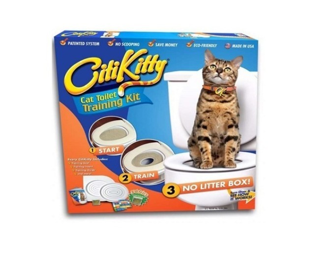 CitiKitty Cat Toilet Training Kit imagine techstar.ro 2021