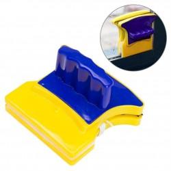 Stergator Magnetic cu Doua Parti, pentru Curatarea Geamurilor, Prindere Rezistenta
