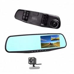 Oglinda retrovizoare cu camera foto/video HD, ecran LCD si camera de mers inapoi
