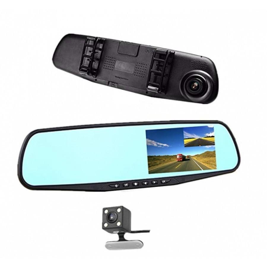 Oglinda retrovizoare cu camera foto/video HD, ecran LCD si camera de mers inapoi imagine techstar.ro 2021