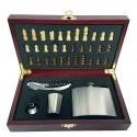 Set cadou pentru desfacut sticla de vin cu tabla de s