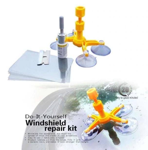 Kit pentru Reparatie Parbriz sau Geam Auto, 20 minute, Usor de folosit imagine techstar.ro 2021