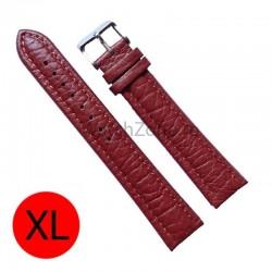 Curea de ceas piele maro marimea XL WZ868