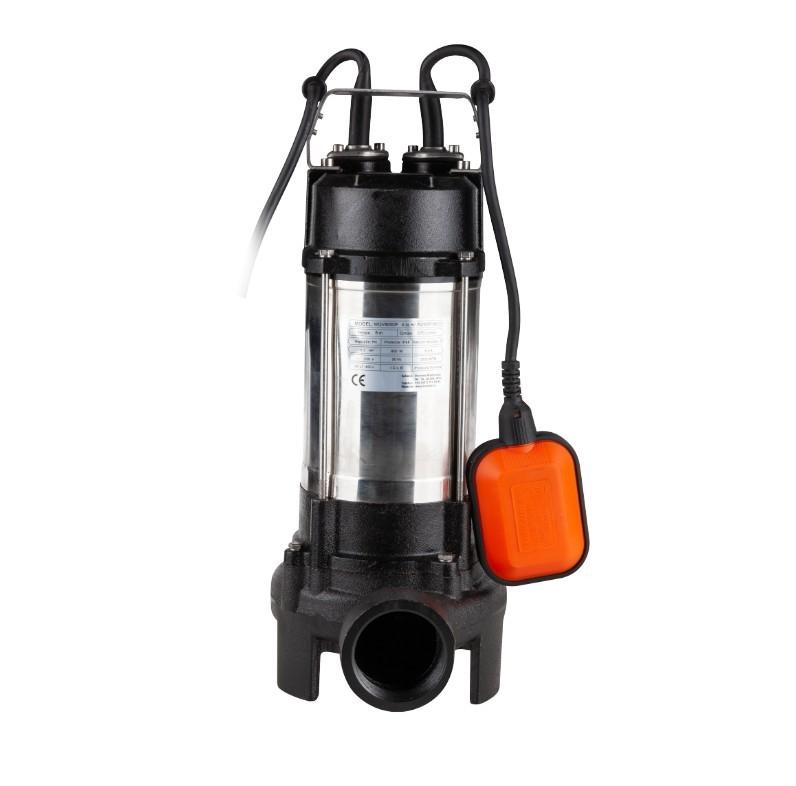 Pompa submersibila cu tocator Evotools, 800W, adancime max 5 m, Hmax 8 m, debit 270 l/min, racord refulare 2