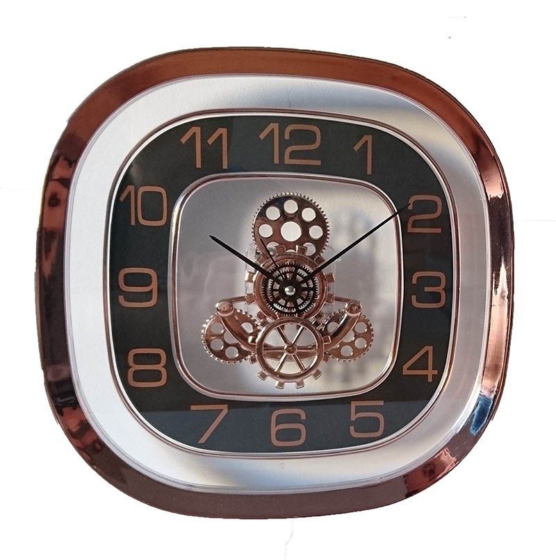 Ceas de perete quartz design mecanic imagine techstar.ro 2021