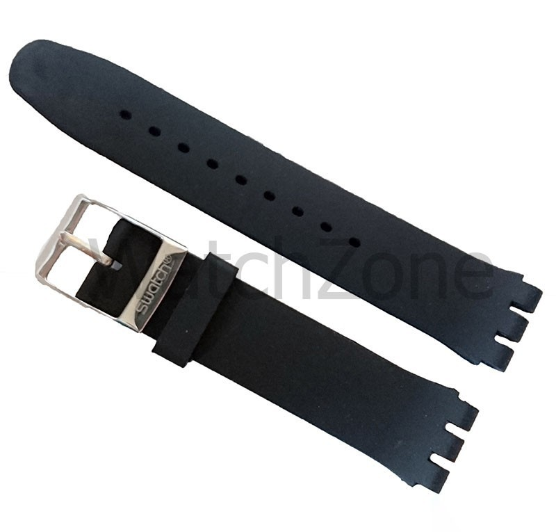 Curea silicon Swatch 19mm 22mm imagine techstar.ro 2021
