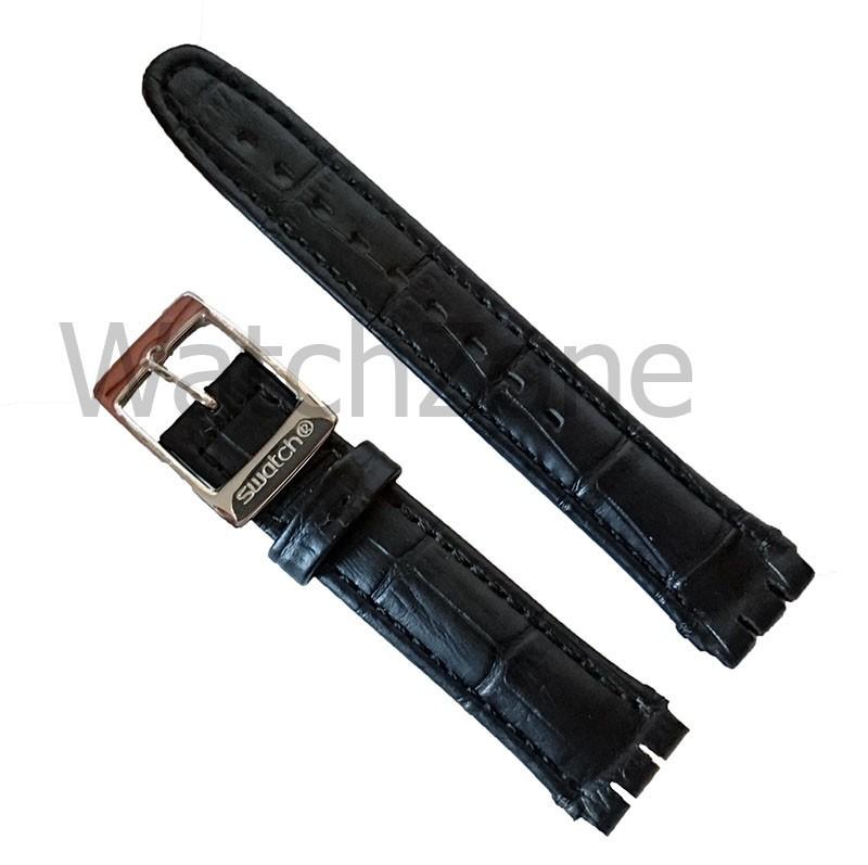 Curea ceas piele Swatch 19mm - 22mm
