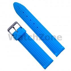 Curea ceas silicon bleu 22mm