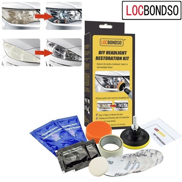 Kit Profesional Polish Faruri/Stopuri, LocBondsco, Made in U.S.A. poza 2021