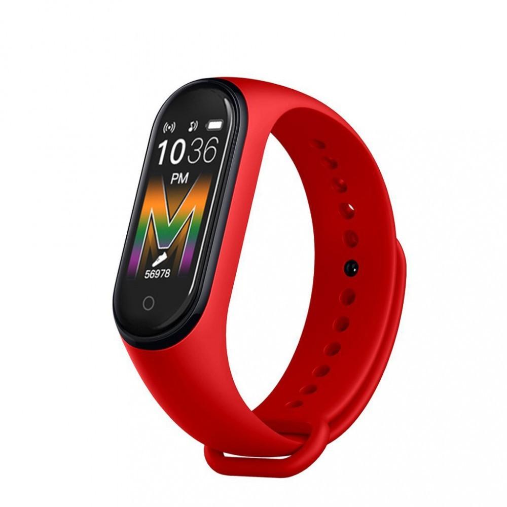 Bratara Inteligenta, Smart Band M5, Tensiune arteriala, Oxigenul Sanguin, Afisaj OLED color poza 2021
