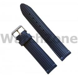 Curea ceas din cauciuc negru 22mm