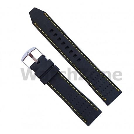 Curea ceas din silicon cu gauri 20mm