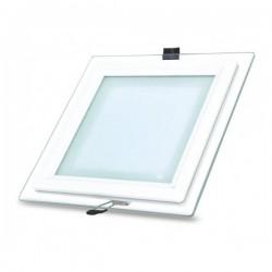 Spot LED,Sticla, 5W Patrat,lumina calda,mat,Calitate Premium 220v