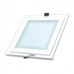Spot LED,Sticla, 5W Patrat,lumina Rece,mat,Calitate Premium 220v