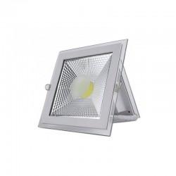 Spot LED,Sticla, 5W Patrat,lumina Calda,Transparent,Calitate Premium 220v