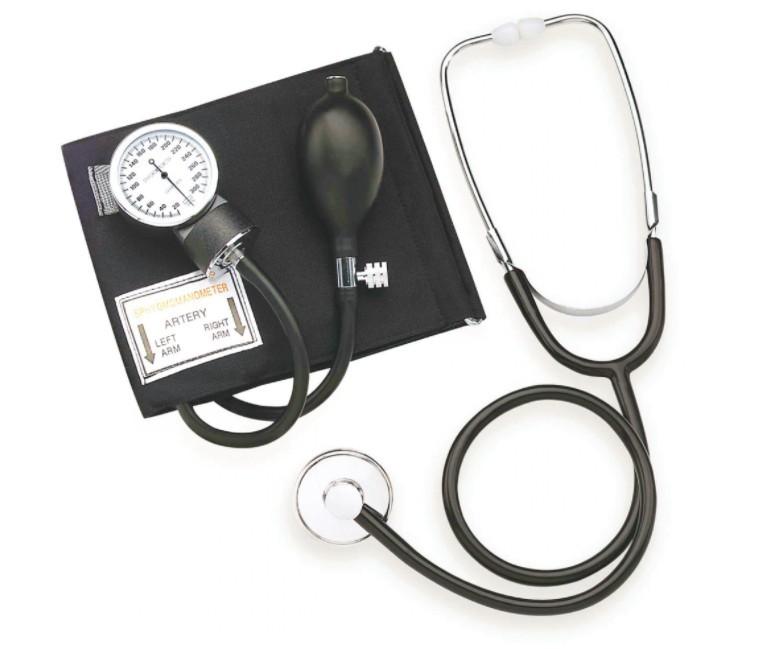 Tensiometru Mecanic cu Stetoscop, Sphygmomanometer poza 2021