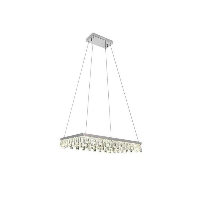 Lampa Suspendata Led NIRVANA-40 Chrome poza 2021