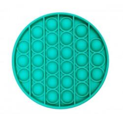 Jucarie Senzoriala Interactiva, Pop It, Bubble, Autismul are Nevoie Speciala de Detensionare, Rotund, Verde
