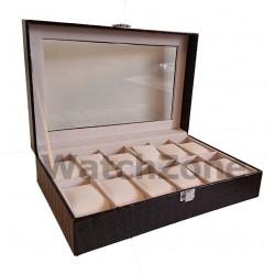 Caseta pentru depozitare ceasurilor cu 12 spatii Premium