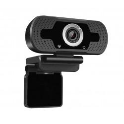 Camera web, SS350 , Full HD 2MP 1080p, 30FPS, anulare zgomot de fond, trepied, capac securitate, negru