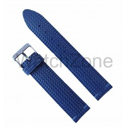 Curea ceas din cauciuc albastru 22mm
