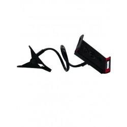 Suport Brat Flexibil Pentru Telefon, Rotire 360 ,Prindere Clema,Negru